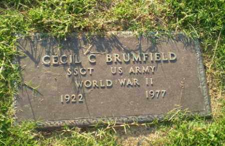 BRUMFIELD  (VETERAN WWII), CECIL C - Greene County, Arkansas | CECIL C BRUMFIELD  (VETERAN WWII) - Arkansas Gravestone Photos