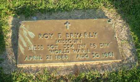 BRYARLY (VETERAN WWI), ROY E - Greene County, Arkansas | ROY E BRYARLY (VETERAN WWI) - Arkansas Gravestone Photos