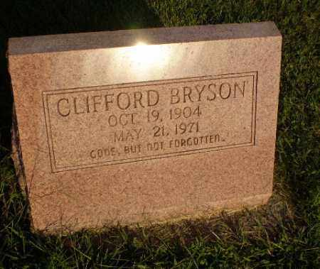 BRYSON, CLIFFORD - Greene County, Arkansas | CLIFFORD BRYSON - Arkansas Gravestone Photos
