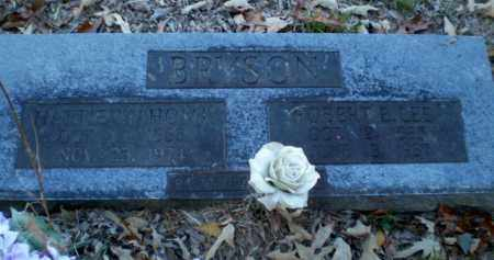 BRYSON, ROBERT E. LEE - Greene County, Arkansas | ROBERT E. LEE BRYSON - Arkansas Gravestone Photos