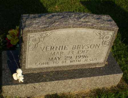 BRYSON, VERNIE - Greene County, Arkansas | VERNIE BRYSON - Arkansas Gravestone Photos