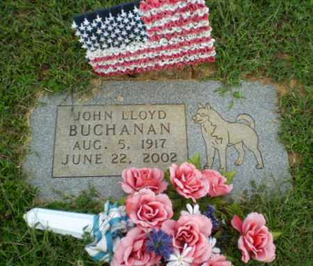 BUCHANAN, JOHN LLOYD - Greene County, Arkansas | JOHN LLOYD BUCHANAN - Arkansas Gravestone Photos