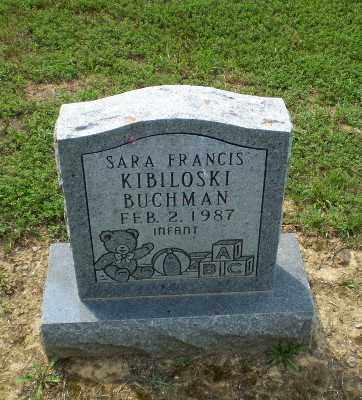 BUCHMAN, SARA FRANCIS KIBILOSKI - Greene County, Arkansas | SARA FRANCIS KIBILOSKI BUCHMAN - Arkansas Gravestone Photos