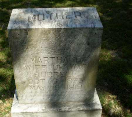 BURRELL, MARTHA D - Greene County, Arkansas | MARTHA D BURRELL - Arkansas Gravestone Photos