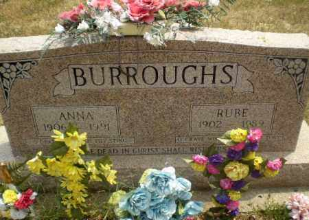 BURROUGHS, RUBE - Greene County, Arkansas | RUBE BURROUGHS - Arkansas Gravestone Photos