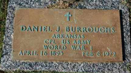 BURROUGHS (VETERAN WWI), DANIEL J - Greene County, Arkansas | DANIEL J BURROUGHS (VETERAN WWI) - Arkansas Gravestone Photos