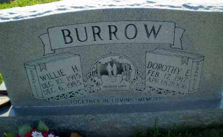 BURROW, WILLIE H - Greene County, Arkansas | WILLIE H BURROW - Arkansas Gravestone Photos