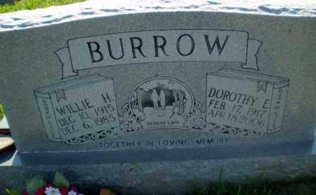 BURROW, DOROTHY E - Greene County, Arkansas | DOROTHY E BURROW - Arkansas Gravestone Photos