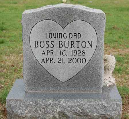 BURTON, BOSS - Greene County, Arkansas | BOSS BURTON - Arkansas Gravestone Photos