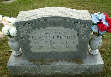 BURTON, EDWARD I - Greene County, Arkansas | EDWARD I BURTON - Arkansas Gravestone Photos
