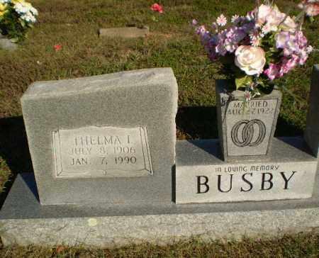 BUSBY, THELMA I - Greene County, Arkansas | THELMA I BUSBY - Arkansas Gravestone Photos