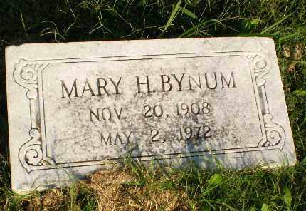 BYNUM, MARY H - Greene County, Arkansas | MARY H BYNUM - Arkansas Gravestone Photos