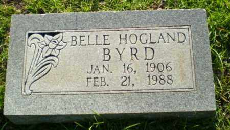 HOGLAND BYRD, BELLE - Greene County, Arkansas | BELLE HOGLAND BYRD - Arkansas Gravestone Photos