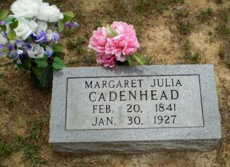 CADENHEAD, MARGARET JULIA - Greene County, Arkansas | MARGARET JULIA CADENHEAD - Arkansas Gravestone Photos