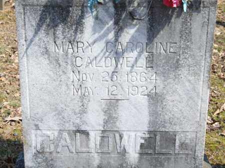 CALDWELL, MARY CAROLINE - Greene County, Arkansas | MARY CAROLINE CALDWELL - Arkansas Gravestone Photos