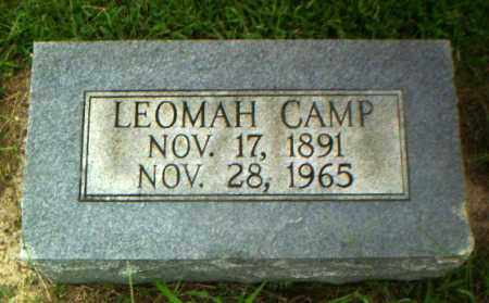 CAMP, LEOMAH - Greene County, Arkansas | LEOMAH CAMP - Arkansas Gravestone Photos