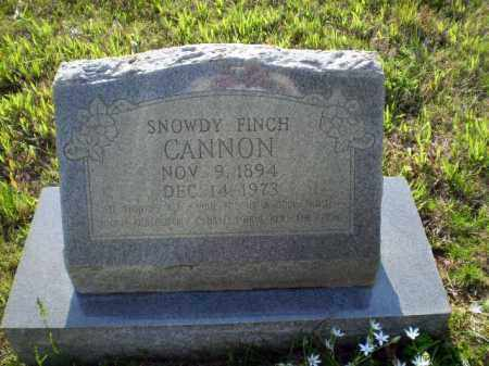 FINCH CANNON, SNOWDY - Greene County, Arkansas | SNOWDY FINCH CANNON - Arkansas Gravestone Photos
