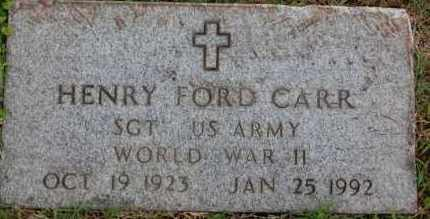 CARR (VETERAN WWII), HENRY FORD - Greene County, Arkansas | HENRY FORD CARR (VETERAN WWII) - Arkansas Gravestone Photos