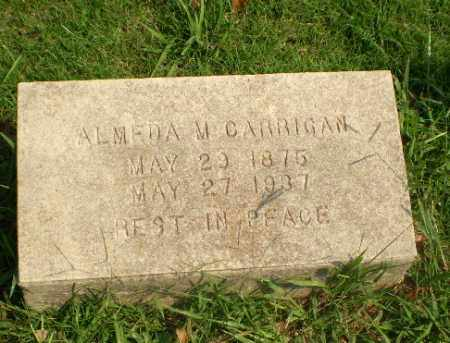 CARRIGAN, ALMEDA M - Greene County, Arkansas | ALMEDA M CARRIGAN - Arkansas Gravestone Photos