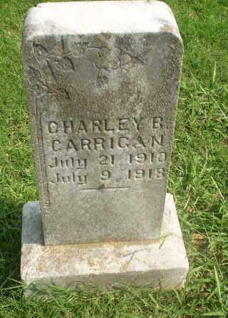 CARRIGAN, CHARLEY R - Greene County, Arkansas | CHARLEY R CARRIGAN - Arkansas Gravestone Photos