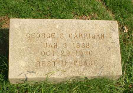 CARRIGAN, GEORGE S - Greene County, Arkansas | GEORGE S CARRIGAN - Arkansas Gravestone Photos