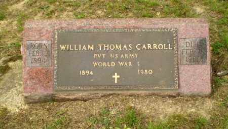 CARROLL  (VETERAN WWI), WILLIAM THOMAS - Greene County, Arkansas | WILLIAM THOMAS CARROLL  (VETERAN WWI) - Arkansas Gravestone Photos