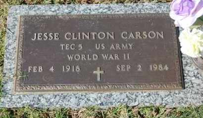CARSON (VETERAN WWII), JESSE CLINTON - Greene County, Arkansas | JESSE CLINTON CARSON (VETERAN WWII) - Arkansas Gravestone Photos