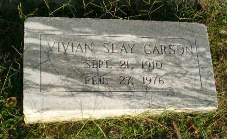 CARSON, VIVIAN - Greene County, Arkansas | VIVIAN CARSON - Arkansas Gravestone Photos