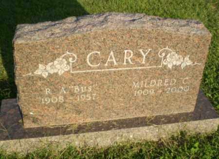 "CARY, R.A. ""BUS"" - Greene County, Arkansas | R.A. ""BUS"" CARY - Arkansas Gravestone Photos"