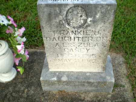 CASEY, FRANKIE - Greene County, Arkansas | FRANKIE CASEY - Arkansas Gravestone Photos