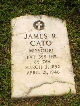CATO  (VETERAN), JAMES R - Greene County, Arkansas | JAMES R CATO  (VETERAN) - Arkansas Gravestone Photos
