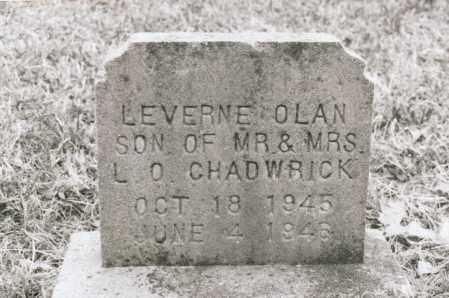 CHADWICK, LEVERNE OLAN - Greene County, Arkansas | LEVERNE OLAN CHADWICK - Arkansas Gravestone Photos