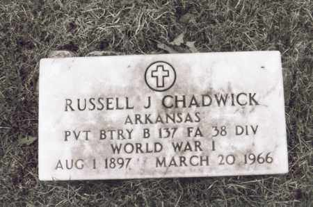 CHADWICK, RUSSELL J. [JEFFERSON] - Greene County, Arkansas | RUSSELL J. [JEFFERSON] CHADWICK - Arkansas Gravestone Photos