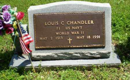 CHANDLER  (VETERAN WWII), LOUIS C - Greene County, Arkansas | LOUIS C CHANDLER  (VETERAN WWII) - Arkansas Gravestone Photos