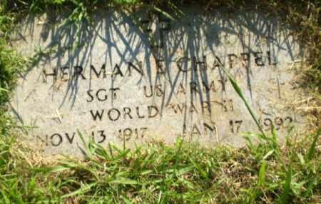 CHAPPEL  (VETERAN WWII), HERMAN E - Greene County, Arkansas | HERMAN E CHAPPEL  (VETERAN WWII) - Arkansas Gravestone Photos