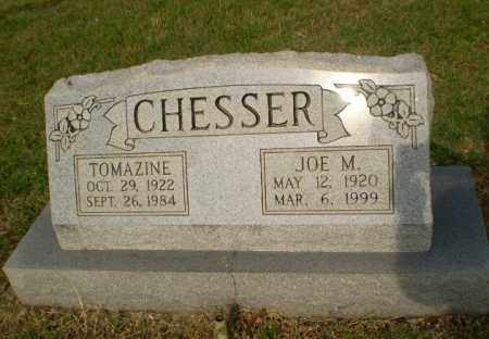 CHESSER, TOMAZINE - Greene County, Arkansas | TOMAZINE CHESSER - Arkansas Gravestone Photos