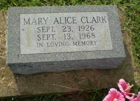 CLARK, MARY ALICE - Greene County, Arkansas | MARY ALICE CLARK - Arkansas Gravestone Photos