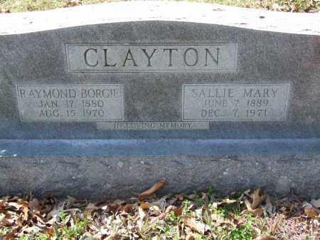 CLAYTON, RAYMOND BORGIE - Greene County, Arkansas | RAYMOND BORGIE CLAYTON - Arkansas Gravestone Photos