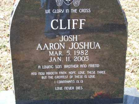 CLIFF, AARON JOSHUA - Greene County, Arkansas | AARON JOSHUA CLIFF - Arkansas Gravestone Photos
