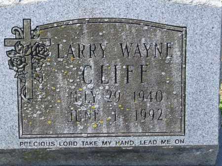CLIFF, LARRY WAYNE - Greene County, Arkansas | LARRY WAYNE CLIFF - Arkansas Gravestone Photos