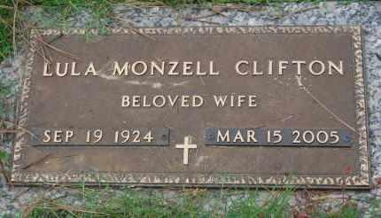 CLIFTON, LULA MONZELL - Greene County, Arkansas | LULA MONZELL CLIFTON - Arkansas Gravestone Photos
