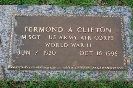 CLIFTON (VETERAN WWII), FERMOND A - Greene County, Arkansas | FERMOND A CLIFTON (VETERAN WWII) - Arkansas Gravestone Photos