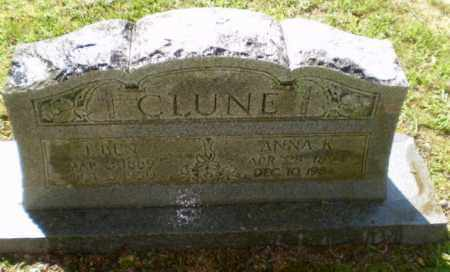 CLUNE, ANNA K - Greene County, Arkansas | ANNA K CLUNE - Arkansas Gravestone Photos