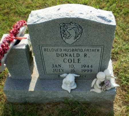 COLE, DONALD R - Greene County, Arkansas | DONALD R COLE - Arkansas Gravestone Photos