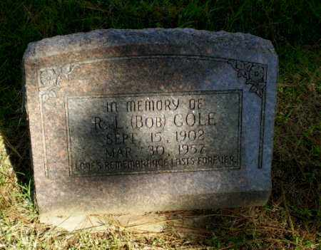 "COLE, R.L. ""BOB"" - Greene County, Arkansas 