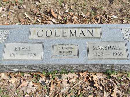 COLEMAN, ETHEL - Greene County, Arkansas | ETHEL COLEMAN - Arkansas Gravestone Photos