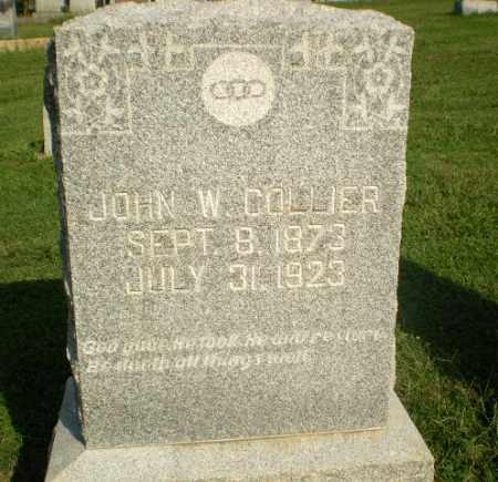 COLLIER, JOHN W - Greene County, Arkansas | JOHN W COLLIER - Arkansas Gravestone Photos