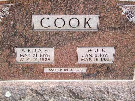 COOK, W. J. B. - Greene County, Arkansas | W. J. B. COOK - Arkansas Gravestone Photos