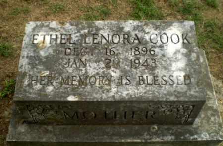 COOK, ETHEL LENORA - Greene County, Arkansas | ETHEL LENORA COOK - Arkansas Gravestone Photos