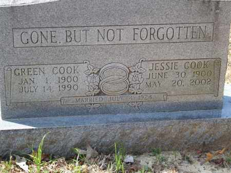 COOK, JESSIE - Greene County, Arkansas | JESSIE COOK - Arkansas Gravestone Photos